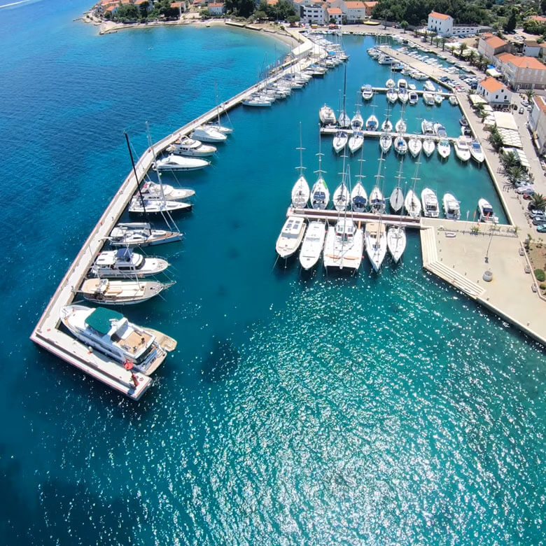 Marina for sale Preko Ugljan Croatia