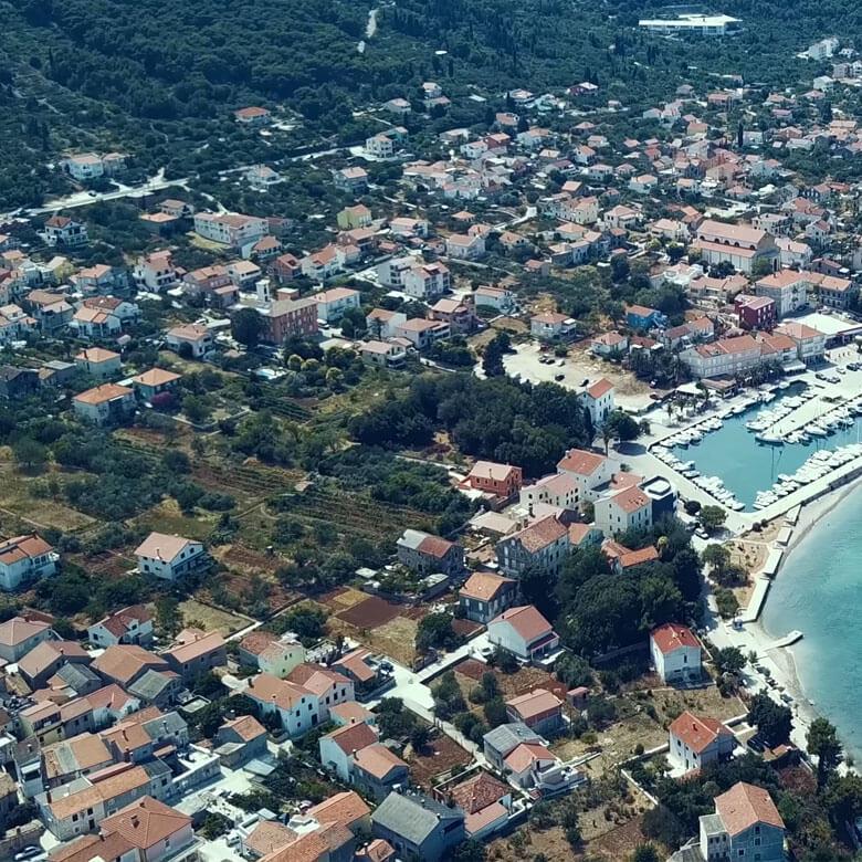 drone-slike-villas-preko 1