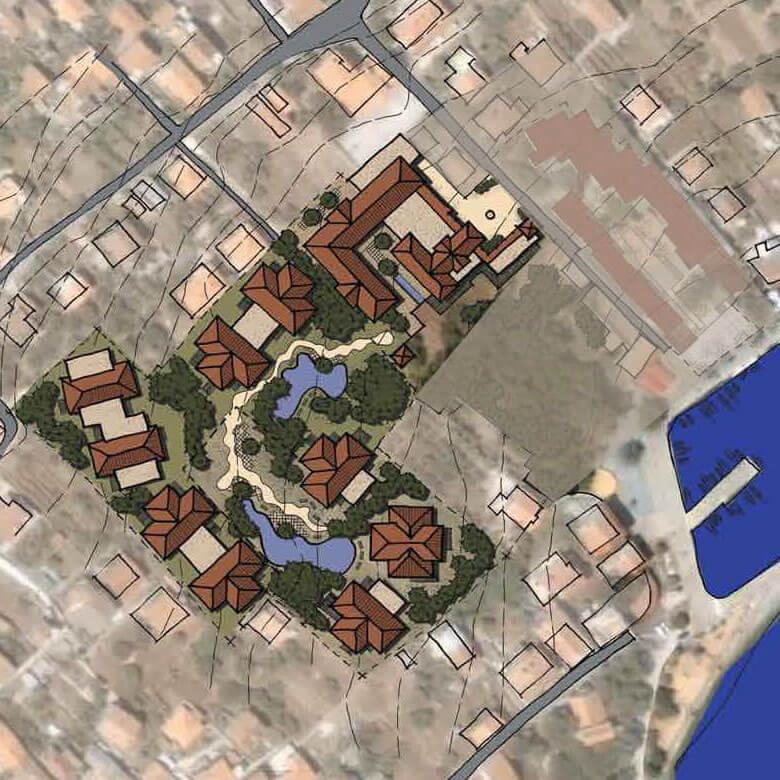 drone-slike-villas-preko 3